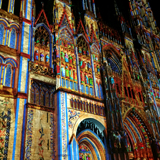 8th edition - Rouen Cathedral lights up