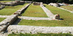 The archaelogical site of Briga